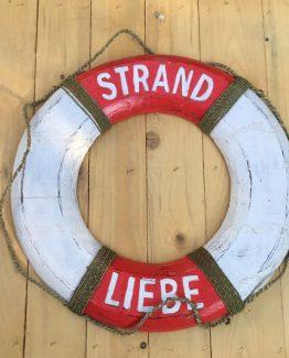 Rettungsring Strandliebe (Medium)