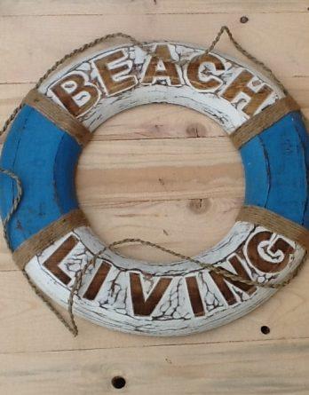 Rettungsring hellblau Beach Living VI neu