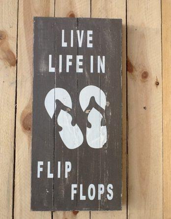 Bild groß Live Life in Flip Flops VI