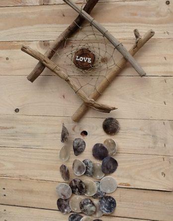 Love Hänger mit Capiz VI