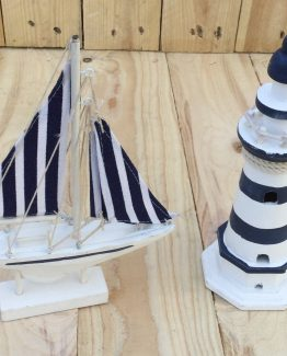 maritime deko schiff leuchturm