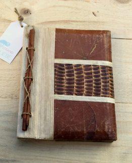 Holz Notzibuch Vorderseite