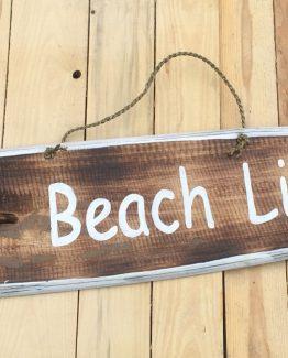 deko  treibholz surfbrett beachlife