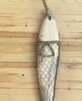 Fisch treibholz maritime deko