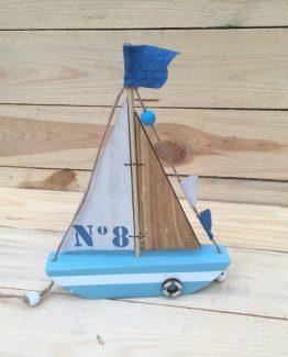 Segelschiff aus holz Nr. 8