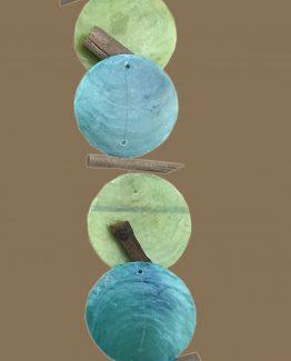 girlande gruen-blau windspiel