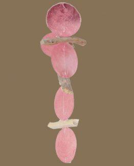 girlande rosa hg braun