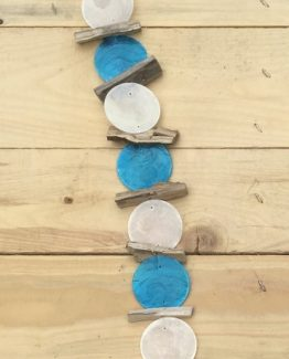 girlande-windspiel blau weiss