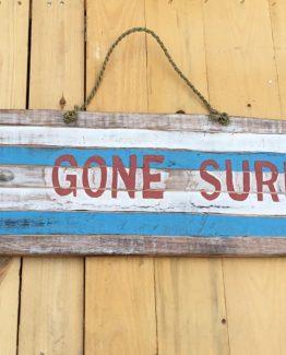 surfbrett gone surfing  beachbar deko