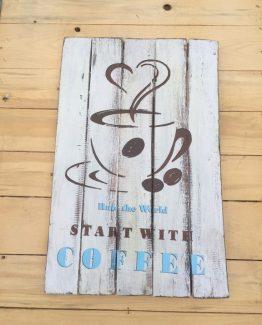 Bild Start with coffee Rule the world (Medium)