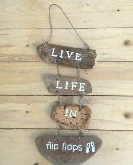 holzhaenger live life in flip flops (Medium)