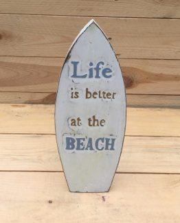 surfbrett treibholz beachhouse deko