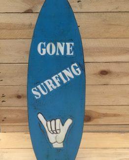 surfbrett gone surfing strand deko