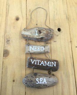 treibholz haenger i need vitamin sea III (Medium)