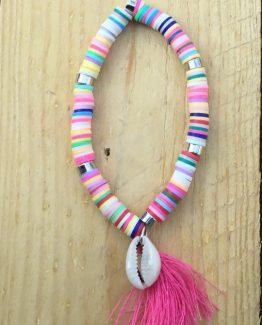 armband mit perlen und muscheln