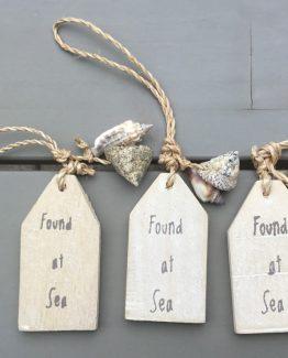 Schlüsselanhänger Found at sea (Medium)