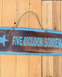 Surfbrett five O Clock