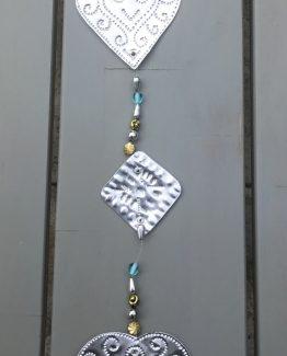 Alu Herz detail girlande